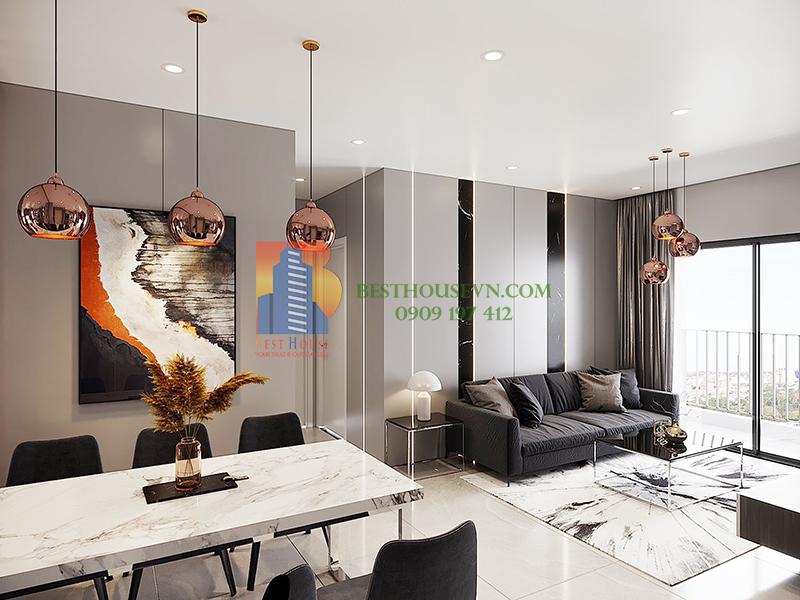 Urban Hill European interior apartment for rent