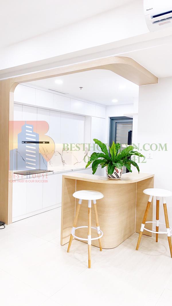 Urban Hill apartment elegant white design District 7